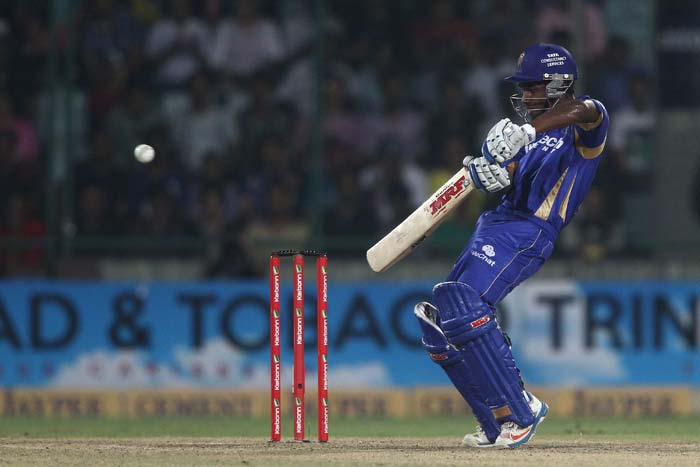 Sanju Samson was at his best in the match as he notched up his third fifty in the tournament and fought well.