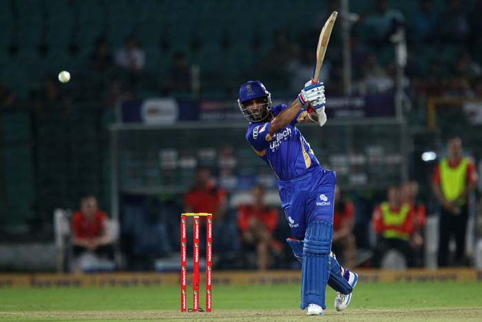 While Ajinkya Rahane scored 62 not out, Sanju Samson hit an unbeaten 50. The duo ws involved in a 120-run stand for the second wicket.