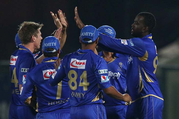 A four-wicket haul followed by a solid batting display by Ajinkya Rahane and Sanju Samson helped Rajasthan Royals crush Perth Scorchers by 9 wickets to book their place in the semifinals. (All BCCI images)