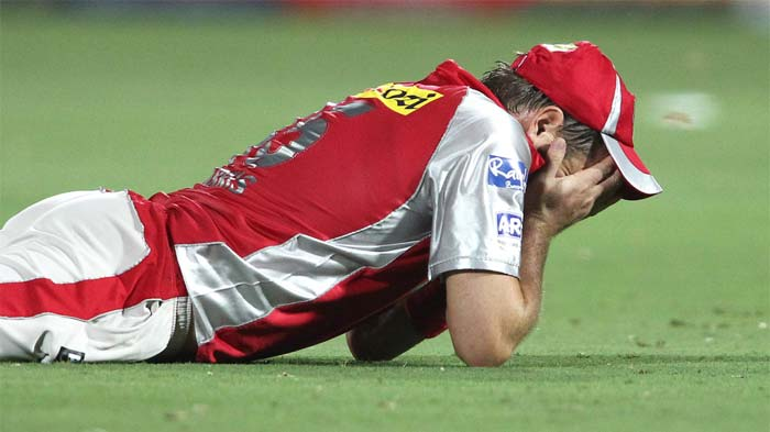 Ryan Harris, had a horrible day on the park, first he was hit for many by Shane Watson in his first spell, then to make things worse, he dropped Sanju Samson at slip. (BCCI image)