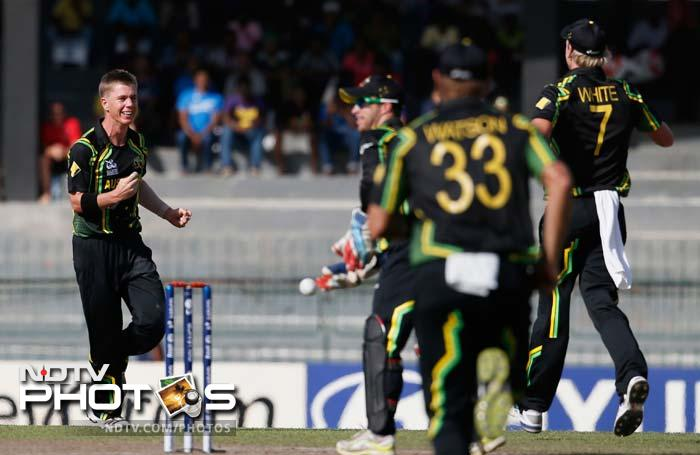 Xavier Doherty struck again in his second over to dismiss seasoned pro Jacques Kallis.