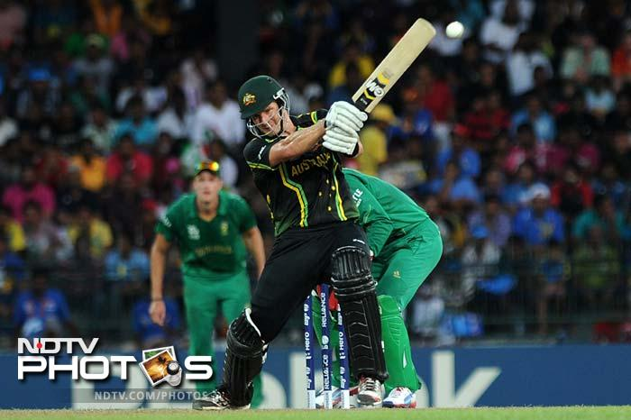 Shane Watson is showing no signs of slowing down in this World T20 as his 47-ball 70 earned him the Man of the Match award for the fourth consecutive time.