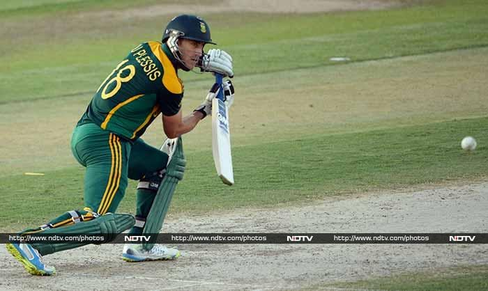 Others who played well for South Africa included Faf du Plessis who scored a watchful 89-ball 46.