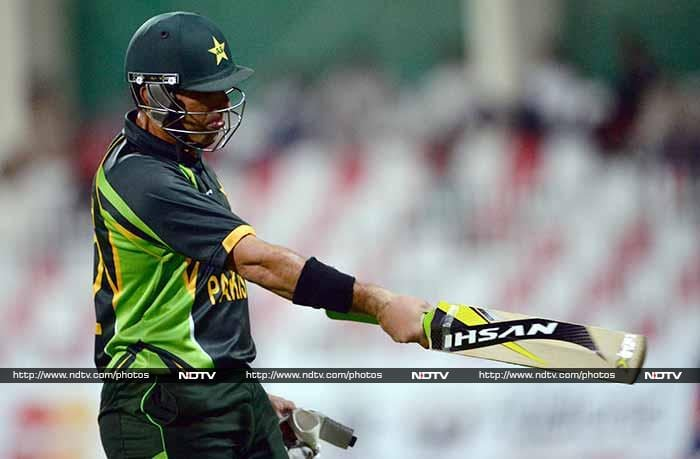 Skipper Misbah-ul-Haq had earlier blamed batsmen for the string of defeats but he himself could not stage a rescue act after Maqsood's 53.<br><br> Misbah scored 18.