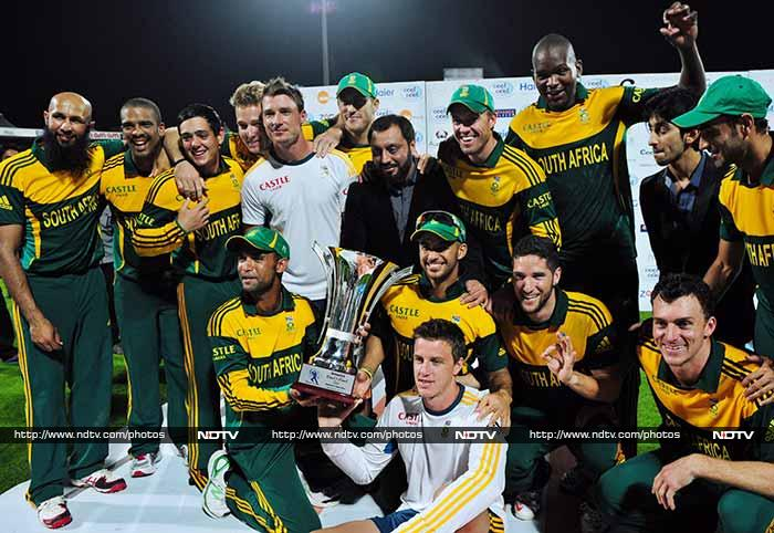 Pakistan's innings folded on a paltry 151, ensuring that South Africa took not just the trophy but the extreme satisfaction of having walloped the opposition.