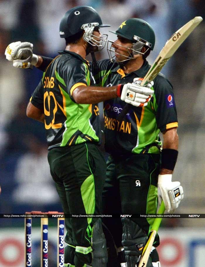 Maqsood (56) was given good support by skipper Misbah-ul-Haq who soon took the lead and hit 65.