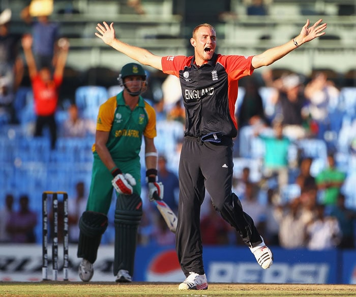 Stuart Broad was the pick of English bowlers, as he finished the match with a 4-wicket haul to guide England to victory. (Getty Images)