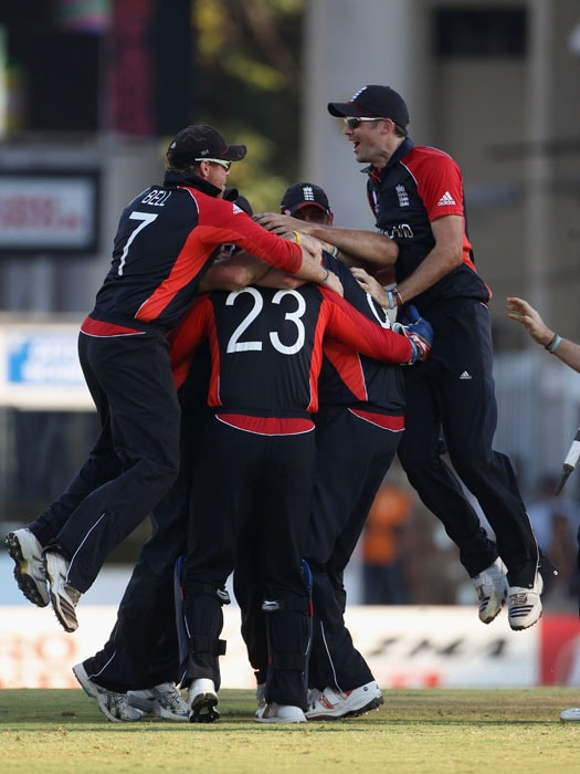 It got closer than anyone expected and in the end it was England who prevailed thanks to their pacers who helped the side scrape to a 6-run win to keep alive their chances in the World Cup. (Getty Images)