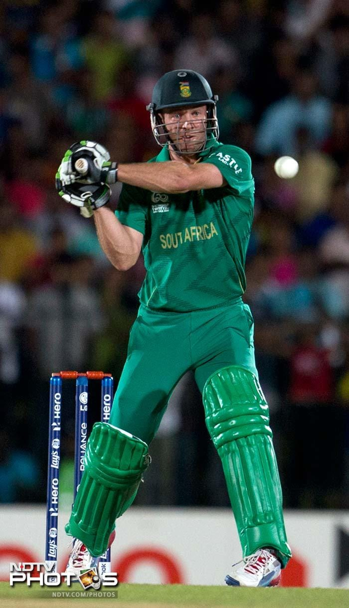 Hashim Amla and Faf du Plessis upped the momentum for South Africa. But it was AB de Villiers who took the game away from Sri Lanka with a 15-ball 30.