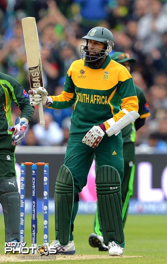 Hashim Amla (81) top-scored in South Africa's 234 for nine, and was given the Man of the Match award. Amla's average of 56.44 while aggregating 3566 in 71 matches is the highest by any batsman in ODIs (minimum qualification: 3000 runs).