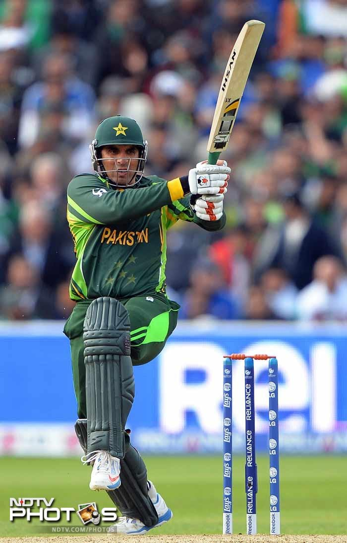 In their defeat to West Indies, Misbah-ul-haq scored 96 in a losing cause. It happened yet again in Edgbaston as Misbah struck 55, but Pakistan lost by 67 runs.