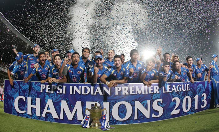 Mumbai defeated Chennai by 23 runs in the final match of IPL 6 to win the coveted title. (BCCI image)