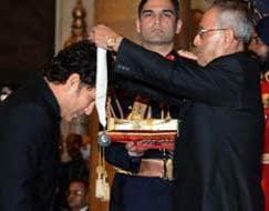 Photo : Sachin Tendulkar honoured with Bharat Ratna