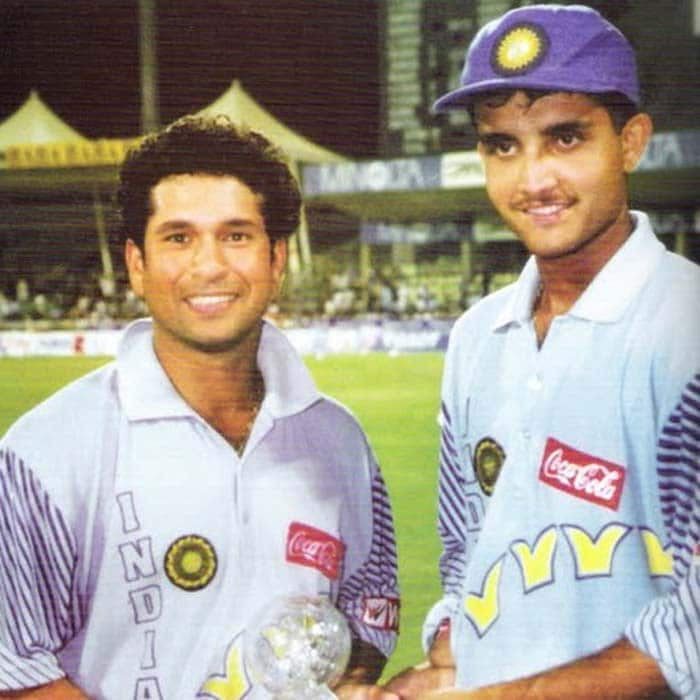 When Sachin broke Azharuddin's record to become highest run getter in ODIs, Dada was at other end in the Nairobi Mini World cup final 2000.