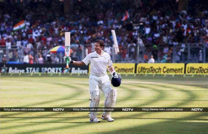 All these people made Sachin's 1st innings of his final match, truly memorable.