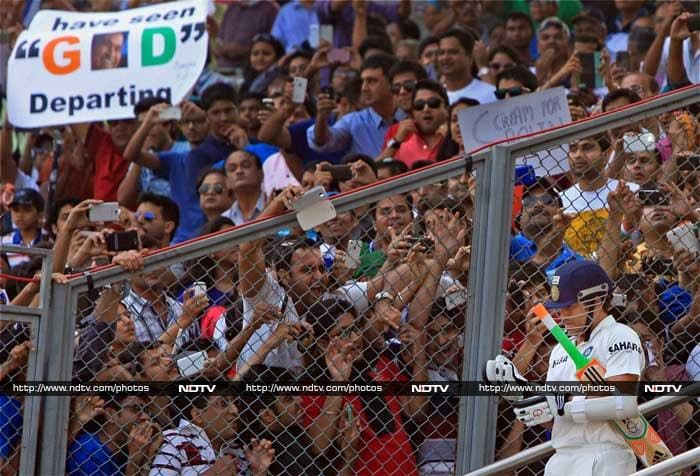 The second Test match between India and West Indies was all about Sachin Tendulkar playing his final Test. While the entire spotlight was on the legend, here are a few other pics from the stadium that just can't be missed. <br><br>Images: PTI