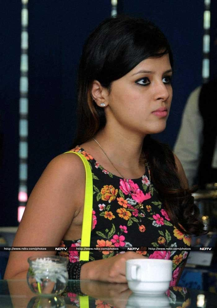 Skipper MS Dhoni's wife Sakshi was also present.