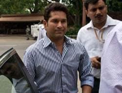 Photo : Sachin Tendulkar attends Parliament's Monsoon Session