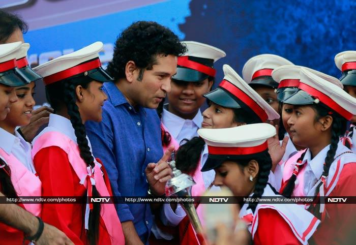 The former cricketer though understands his social responsibilities as well. <br><br>Amongst several of his social initiatives, Sachin is also the brand ambassador of UNICEF and spent some of his time urging people to was hands and maintain a high standard of hygiene.