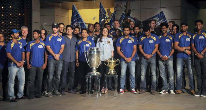 Mumbai are now reigning IPL and CLT20 champions, a feat that makes them arguably the best T20 side ever. Photo credit: Santosh Nagwekar