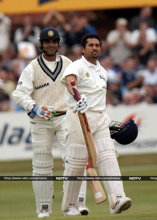 193 vs England at Headingley in Leeds in 2002. Sachin narrowly missed out on a double century this time when he got out at a score of 193. But on the brightside, India won the match because of his contribution.