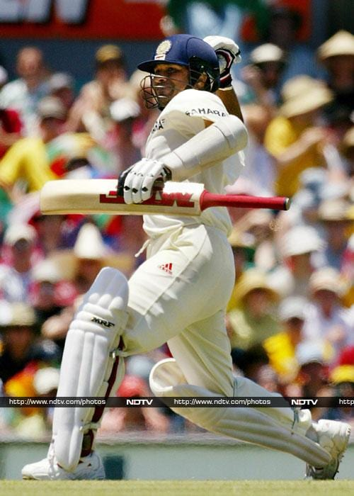 241* vs Australia in Sydney, January 2-6 2004 Sachin Tendulkar's form against Australia in the 2003-04 series was well below par. Going into the 4th and final Test in Sydney, the Master Blaster had a big score due. In what was Steve Waugh's final Test for Australia, Sachin could not have chosen a better stage to return to form. In company of VVS Laxman who scored 178, Sachin added 353 runs for the 4th wicket.