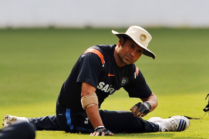 <b>The making of a legend..</b><br><br>The infallible stretches during a practice session.