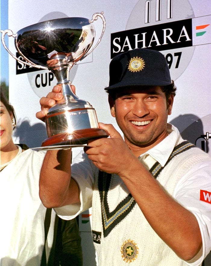 If Nawab Pataudi was the youngest ever to lead an Indian team, Sachin was the youngest ODI captain of India.