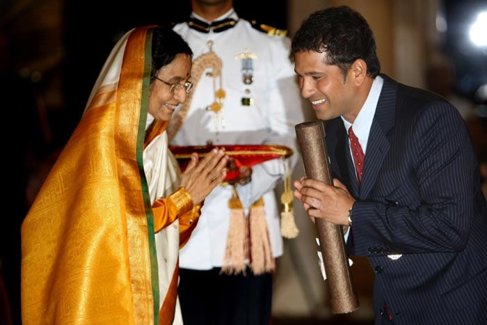 He's the only cricketer to have won the Padma Vibhushan award, the second highest civilian award of the country. He's the only the second sportsperson after World Chess Champion Viswanathan Anand to have received this award.