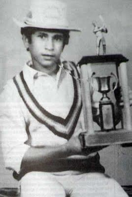 Before making his first-class appearance, a 14-year old Sachin and Vinon Kambli had a record partnership of unbeaten 664 runs during an inter-school match for Shradhashram Vidyamandir against St Xavier's at Azad Maidan. Sachin made an unbeaten 326 while Kambli made an unbeaten 349. This remained the highest partnership recorded in any form of cricket, until in November 2006 two schoolboys from Hyderabad - Manoj Kumar and Mohammad Shaibaz - overtook the record with an unbeaten 721-run partnership.