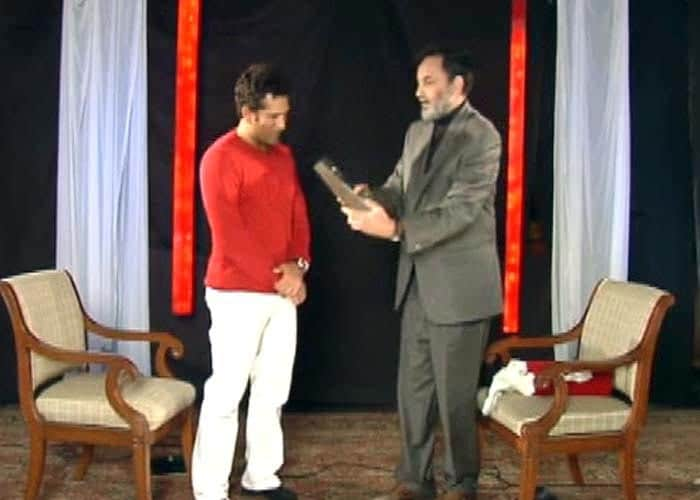 Sachin was given the NDTV Indian of the Year Award in 2010.