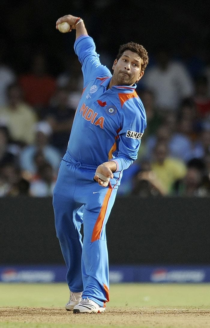 Sachin is the only Indian cricketer to have over 10,000 runs and 150 wickets. Sourav Ganguly has 11363 runs and 100 wickets in the ODIs, while Rahul Dravid has 10765 runs and 4 wickets.