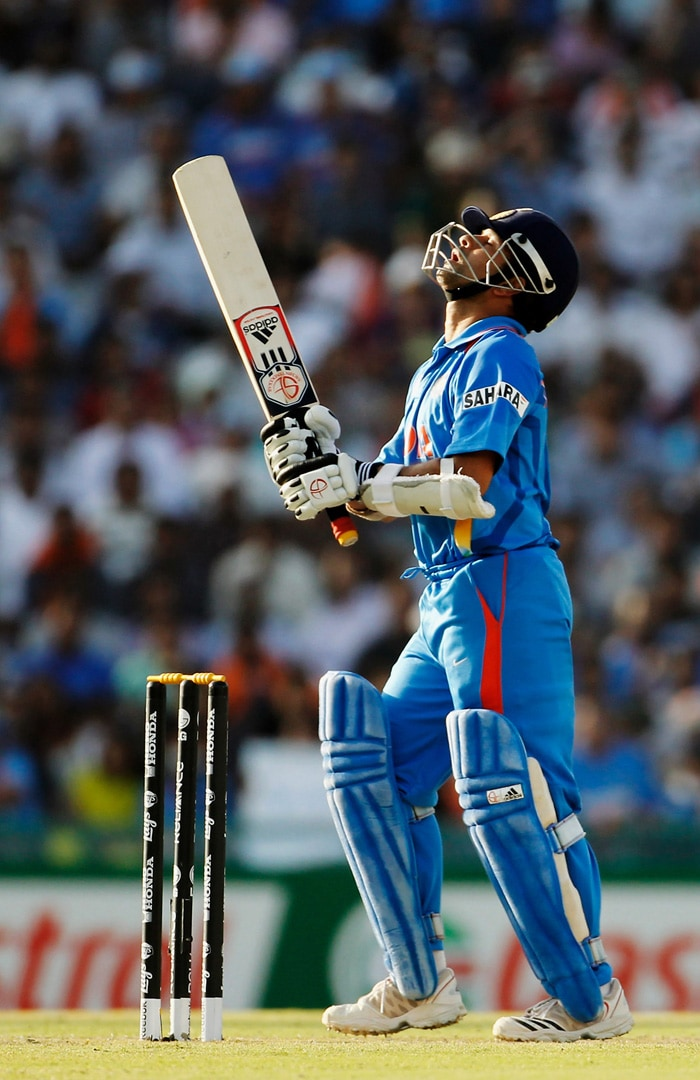 Sachin Tendulkar missed out on his 100th international ton but lived a charmed life on his way to 85 against Pakistan, getting six lifelines during his knock. (Getty Images)