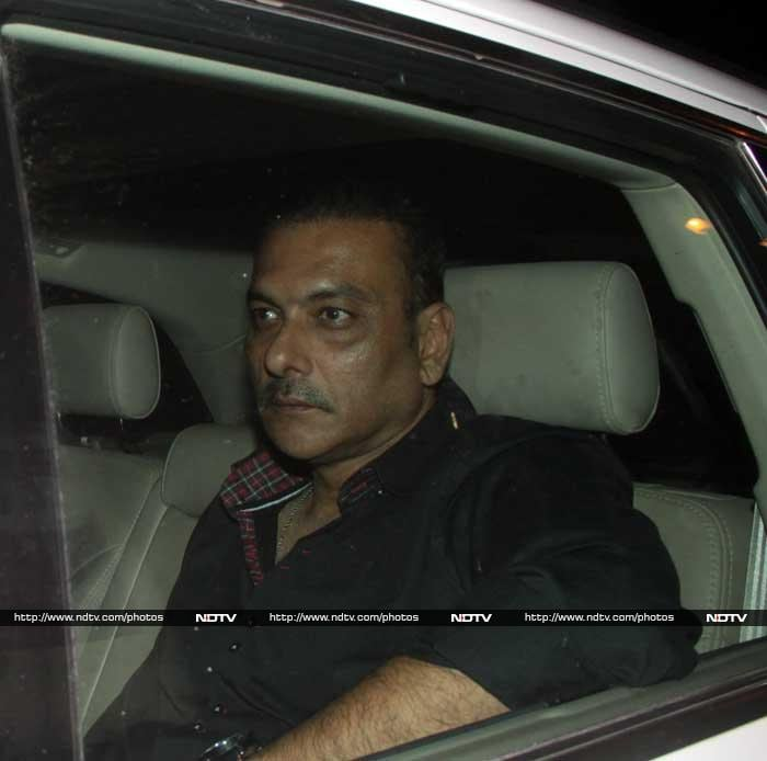 We suspect Ravi Shastri would have been the life of the party. © Photo: Santosh Nagwekar