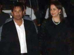 A Team India reunion at Sachin Tendulkar's dinner party