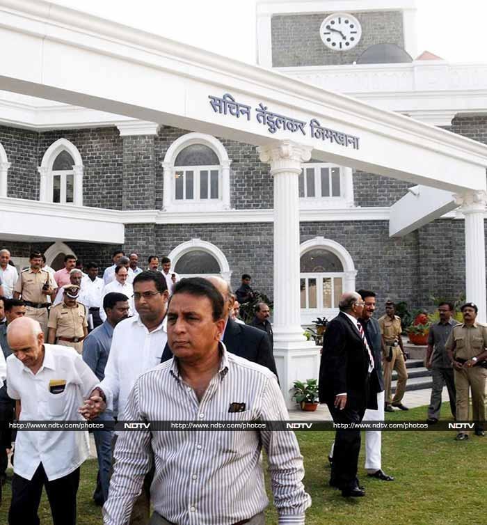 The Mumbai Cricket Association formally renamed the Kandivili ground as the Sachin Tendulkar Gymkhana Club.