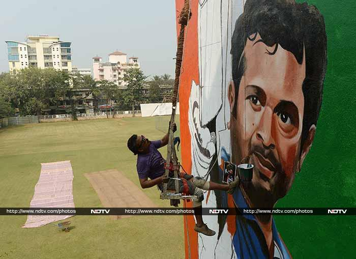 There is no place like home!<br><br> After traveling the world and stunning people all over with his cricketing genius, Sachin Tendulkar returns to Mumbai - where it all began - for his 200th Test and final appearance on the cricket field.<br><br> Images courtesy AFP and PTI.