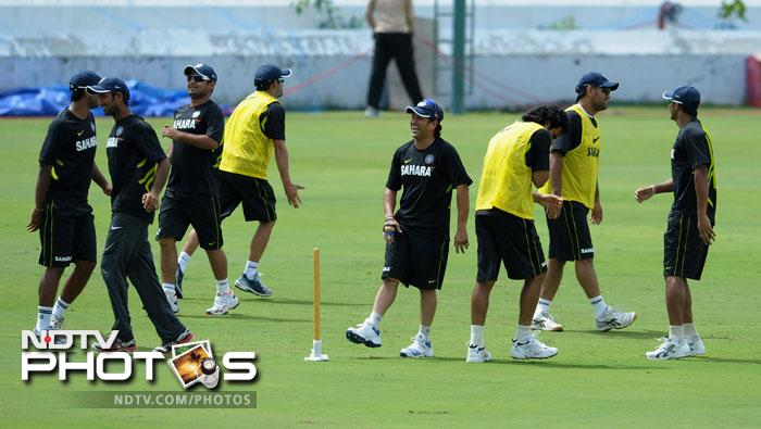 The entire team had a strenous training session. The focus was on all aspects of the sport.