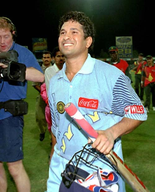 <b>April 24, 1989-April 24, 1996:</b><br><br> 38 Tests - 2483 runs, Highest - 179, 8 centuries<br> Tendulkar again plays just 3 Tests but unlike the previous year it turns out to be his least successful outing as he scores only 58 runs in the 3 matches. The 58 runs include a knock of 42 not out. <br><br> 116 ODIs - 4058 runs, Highest - 137, 8 centuries, Wickets-39<br> Tendulkar carries on his good form from the previous year and falls just short of 1,000 runs in 19 games. His average crosses 40 as he adds 4 centuries to his name. On April 17, 1996, playing against South Africa at Sharjah, the little master completes 4,000 runs in his 115th ODI. He also scores a total of 523 runs in the World Cup hosted by India, Pakistan and Sri Lanka which include two centuries, playing a major role in India's progress to the semi-finals.