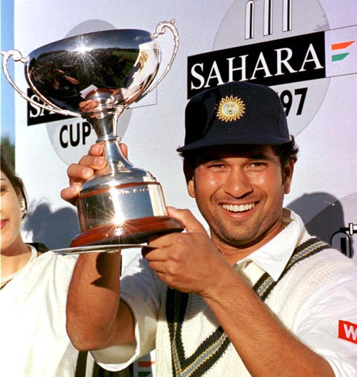 <b>April 24, 1989-April 24, 1997:</b><br><br> 53 Tests - 3617 runs, Highest - 179, 11 centuries<br> Takes over the captaincy from Mohammad Azharuddin. After playing a total of just 6 Tests in the previous 2 years the master appears in 15 Tests in this year and scores over 1000 runs. Tendulkar crosses 3000 Test runs during his knock of 61 against South Africa at Johannesburg in his 45th Test on December 8, 1996. <br><br> 143 ODIs - 5079 runs, Highest - 137, 11 centuries, Wickets-44<br> Along with the several Tests, Tendulkar also playes a massive number of ODIs - 27 to be precise. He has a decent year, given the number of ODIs, amassing over 1,000 runs and hitting 3 hundreds. He however, crosses 5,000 runs while appearing in his 141st ODI on February 12, 1997 against South Africa at Durban.