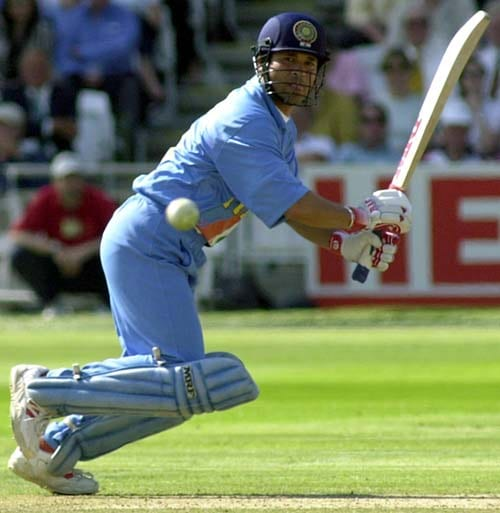 <b>April 24, 1989-April 24, 2002: </b><br><br> 93 Tests - 7869 runs, Highest - 217, 29 centuries <br> Has a good year, slamming 1149 runs in 11 Tests, taking his average to nearly 59. On November 3, 2001, Tendulkar scores his 26th Test hundred, and becomes the youngest player to score 7,000 Test runs, at 28 years 193 days in his 85th Test, beating England's David Gower (who was 31). He achieves the feat against South Africa at Bloemfontein. On April 19, 2002, the Mumbai batsman scores his 29th Test century at Port of Spain against the West Indies, equalling Sir Donald Bradman's record of Test hundreds. <br><br> 286 ODIs - 11069 runs, Highest - 186*, 31 centuries, Wickets-105<br> He brings up his 30th ODI hundred on October 5, 2001 against South Africa at Johannesburg. On January 28, 2002, playing against England at Kanpur, Sachin accomplishes 11,000 runs in his 284th ODI.