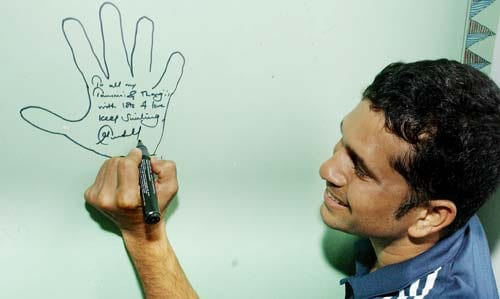<b>April 24, 1989-April 24, 2004: </b><br><br> 114 Tests - 9470 runs, Highest - 241*, 33 centuries<br> Not a great year for the little master as he manages only 659 runs in 9 Tests, although they include two superb knocks of 241 not out and an unbeaten 194. Tendulkar gets his 3rd double ton during the 4th Test of the Border-Gavaskar series against Australia at Sydney on January 2, 2004, his 111th Test, and en route becomes only the fourth man to reach 9,000 Test runs, two days ahead of contemporary Brian Lara in Cape Town. His 194-run knock against Pakistan however, stirs controversy as stand-in-captain Rahul Dravid declares the Indian inning with Tendulkar just 6 runs short of a well deserved 4th double hundred. <br><br> 333 ODIs - 13134 runs, Highest - 186*, 37 centuries, Wickets - 116<br> March 16, 2004, sees Tendulkar going past 13,000 runs during his knock of 141 against Pakistan at Rawalpindi. It also makes him the first player to win 50 Man of the Match award in ODIs .