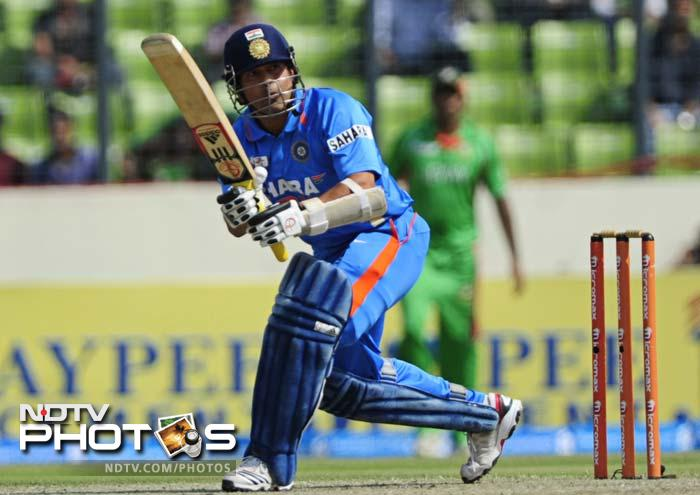 Tendulkar gradually neared his landmark and the world watched in anticipation as he was about to do the unthinkable, score 100 international centuries.