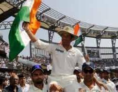 Photo : SACHIN TENDULKAR, God of Cricket retired in 2013!