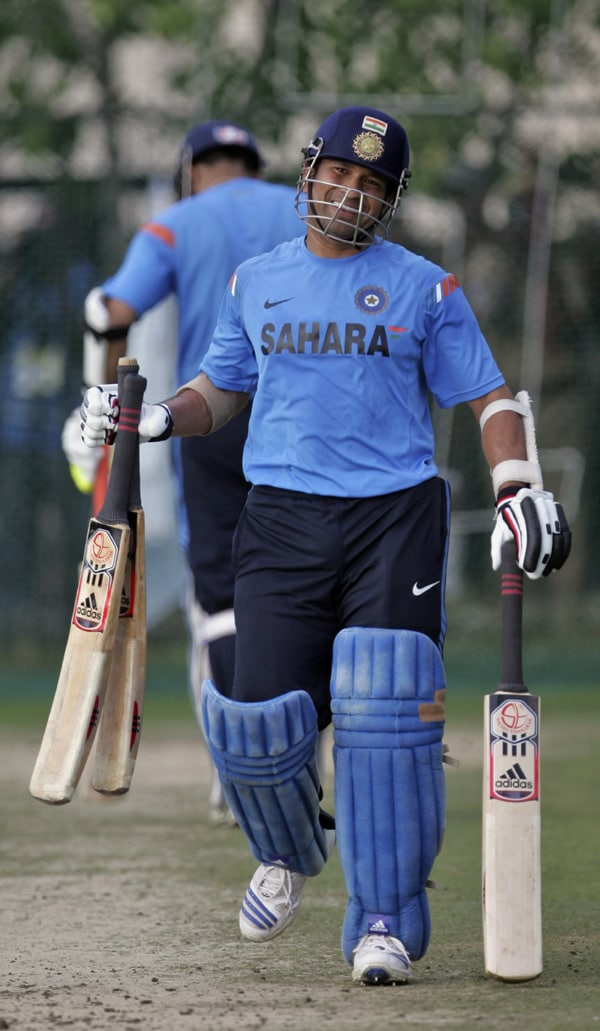 <b>Year 2003, 65th Century:</b> Sachin went without a century for nearly half a year. He then hit his 34th ton against Namibia at the City Oval, Pietermaritzburg on February 23, 2003.