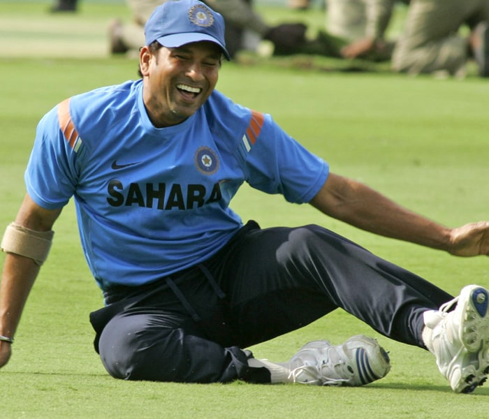 <b>Year 2001, 54th Century:</b> Sachin scored his second century against the Windies on July 4, 2001 at the Harare Sports Club in Harare scoring an unbeaten 122 runs leading India to a win.