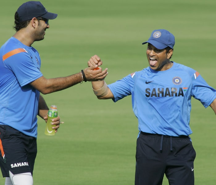 <b>Year 2001, 56th Century:</b> Another good innings with a score of 146 came on October 24, 2001 when he helped India win at the Boland Park, Paarl against Kenya.