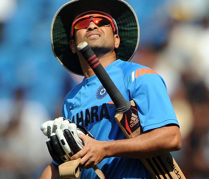 <b>Year 2003, 66th Century:</b> The master batsman got his 35th ODI ton against Australia on October 26, 2003 in Gwalior that resulted in India's 37-run win over the World Champions.