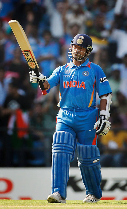 <b>Year 2011, 99th Century:</b> Sachin Tendulkar slammed his 48