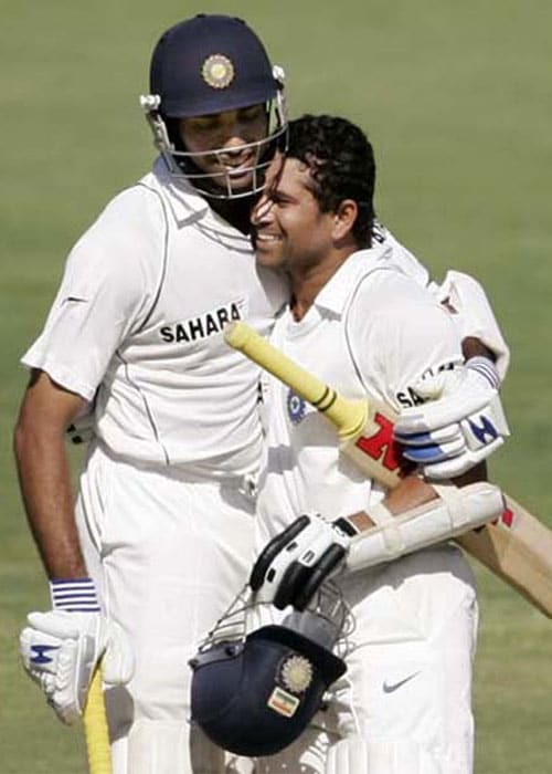 <b>Year 2008, 80th Century:</b> After a forgettable Sydney Test, India moved to Adelaide for the third Test. Sachin carried his form to the Adelaide Oval and made 154 runs to get his 39th Test ton, which was also his 80th international hundred. The match ended in a draw.